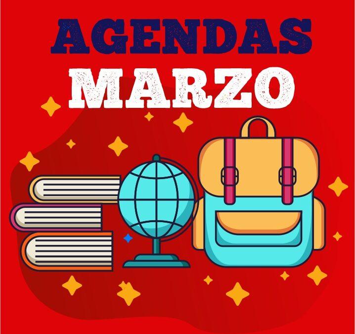 Agendas – Marzo