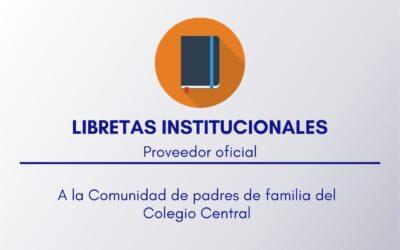 Libretas institucionales