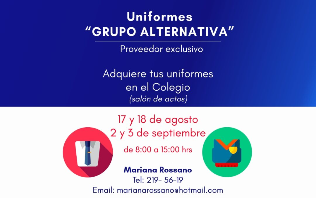 Uniformes Grupo Alternativa