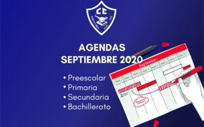 Agendas septiembre 2020