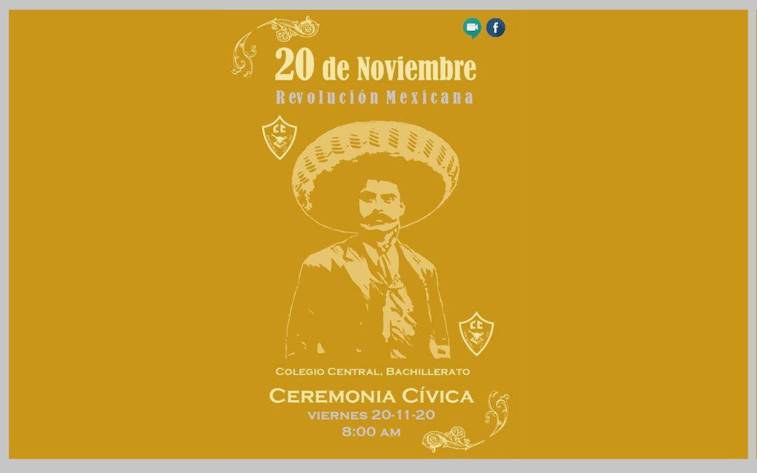 20 de noviembre, Ceremonia cívica