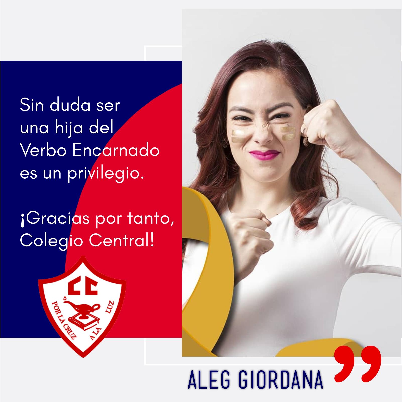 Aleg Giordana-Ex alumna CC 6