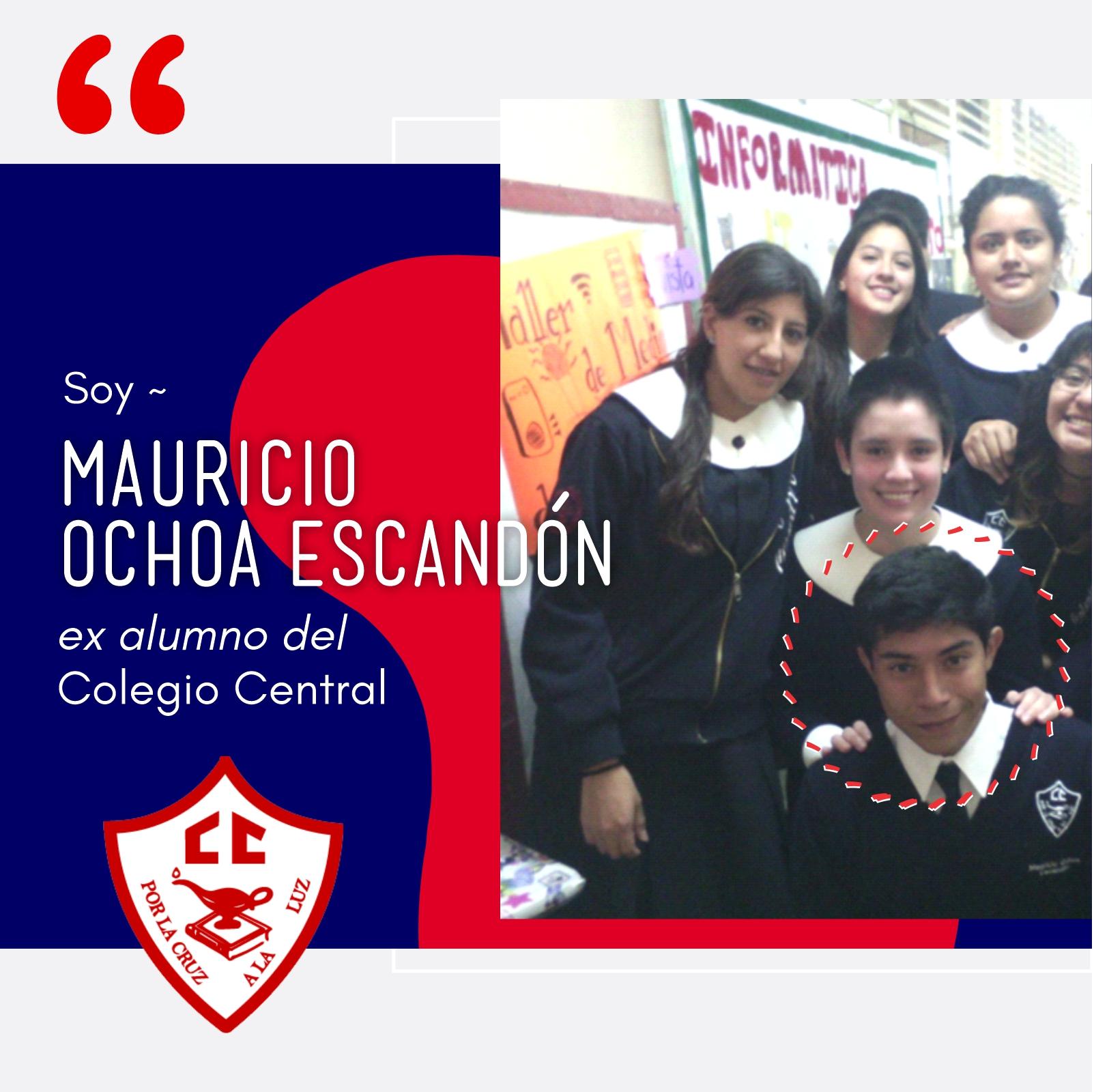 Testimonio Ex alumno-Mauricio Ochoa Escandon 1