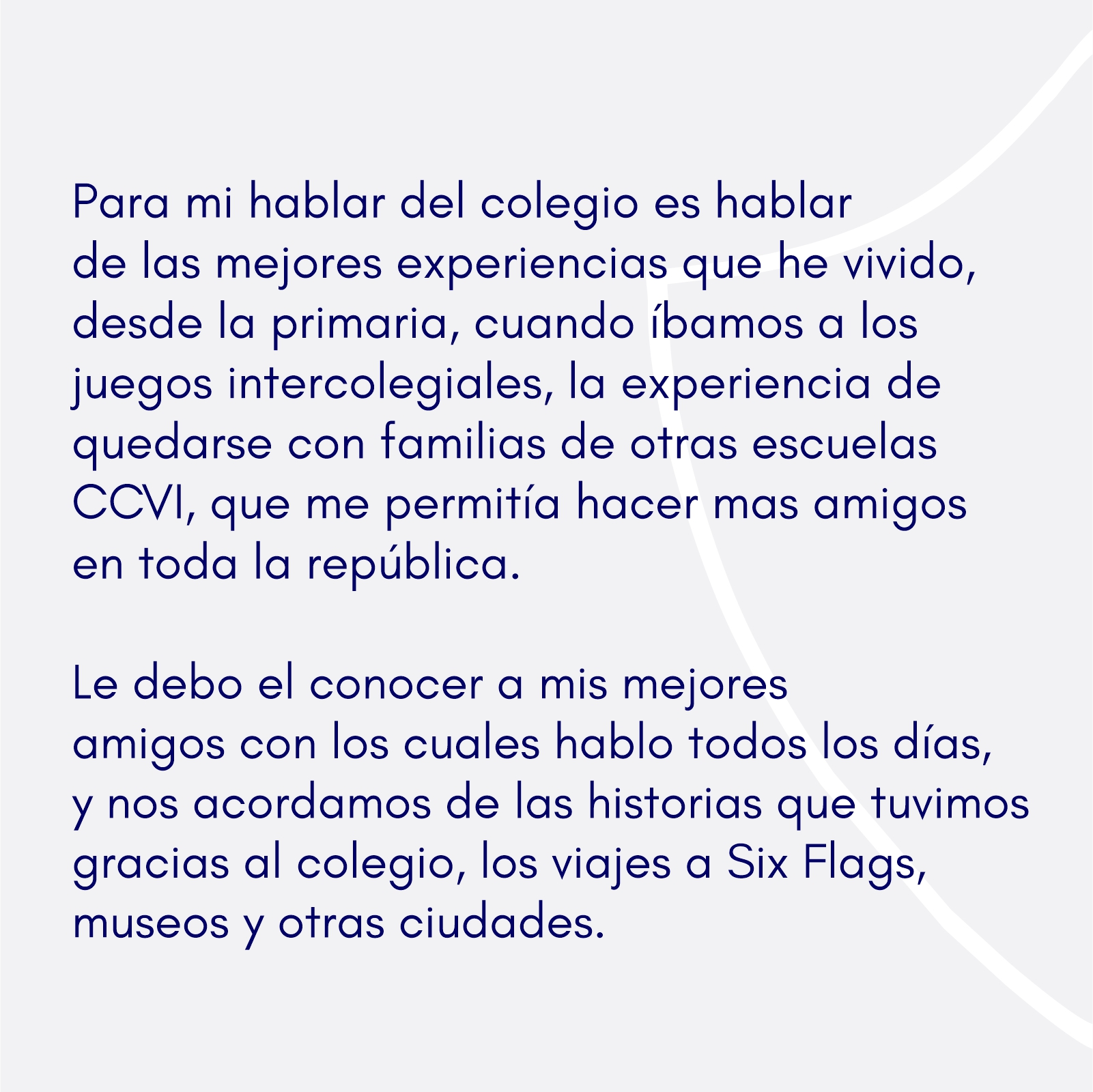 Testimonio Ex alumno-Mauricio Ochoa Escandon 3