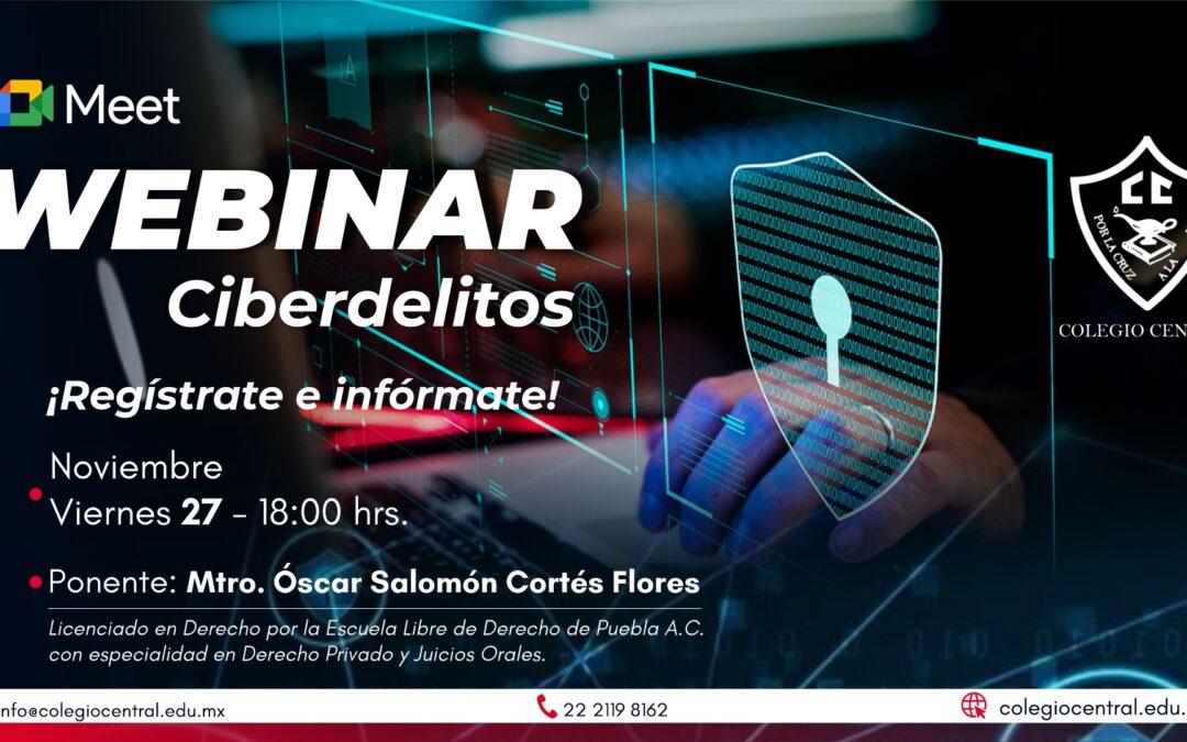 Webinar: Ciberdelitos