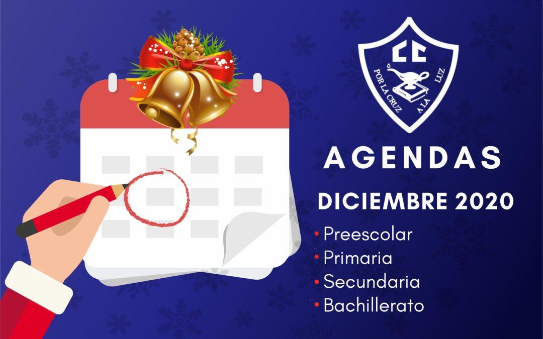 Agendas diciembre 2020