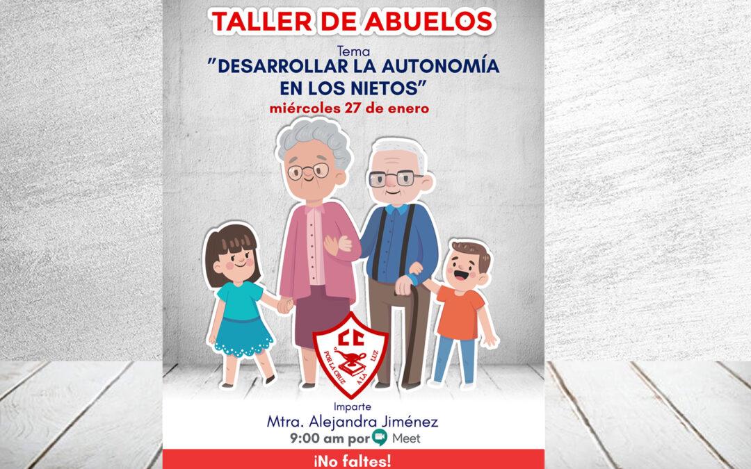 Taller de abuelos, 27 de enero