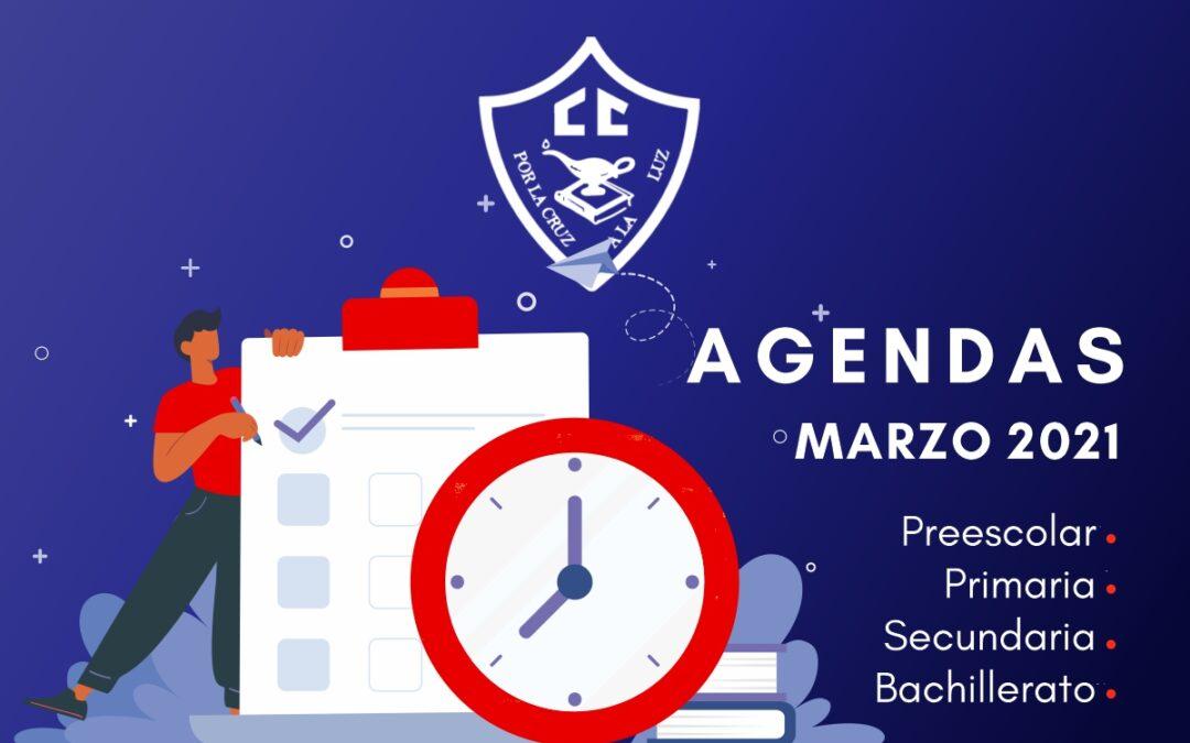 Agendas Marzo 2021